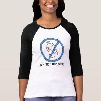 Lehnen Sie Plastik ab T-Shirt