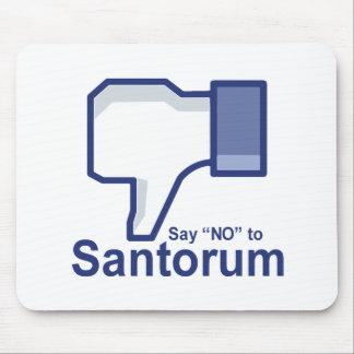 Lehnen Sie Santorum ab Mauspads