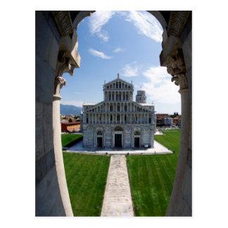 Lehnender Turm Pisa, Italien Postkarte