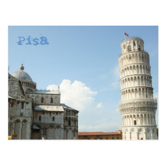 Lehnender Turm Postkarte