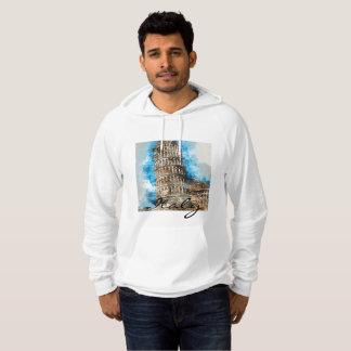 Lehnender Turm von Pisa in Italien Hoodie