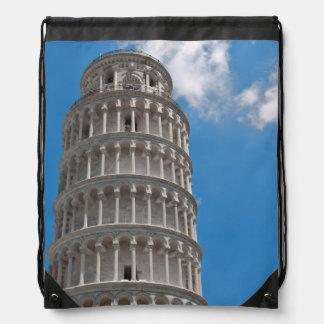 Lehnender Turm von Pisa in Italien Turnbeutel