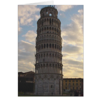 Lehnender Turm von Pisa Karte
