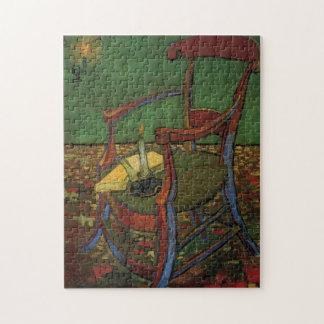 Lehnsessel Van Gogh Paul Gauguin, Vintage Kunst Puzzle