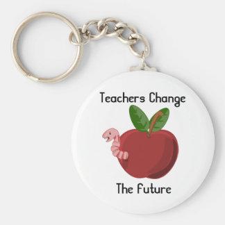 Lehrer ändern das zukünftige Keychain Schlüsselanhänger