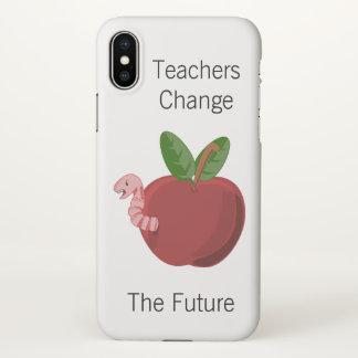 Lehrer ändern die Zukunft iPhone X Hülle