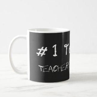 Lehrer der Nr.-1 personifizieren mit Lehrer-Namen Kaffeetasse