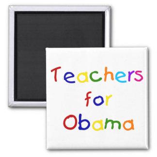 Lehrer für Obama-Magneten Quadratischer Magnet