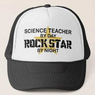 Lehrer für Wissenschafts-Rockstar bis zum Nacht Truckerkappe