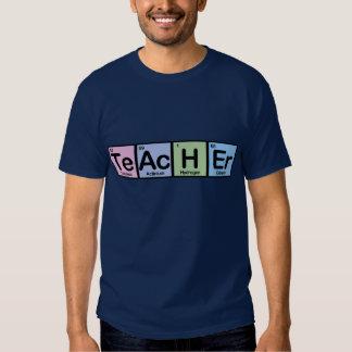 Lehrer gemacht von den Elementen Hemd