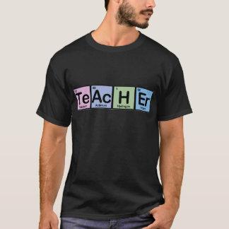Lehrer gemacht von den Elementen T-Shirt