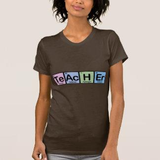 Lehrer gemacht von den Elementen T-Shirts