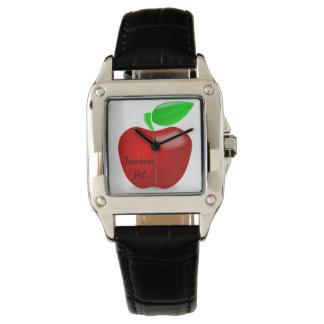 Lehrer-Haustier kundenspezifisches Apple passen Armbanduhr