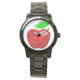 Lehrer-Haustier kundenspezifisches Apple passen Uhr