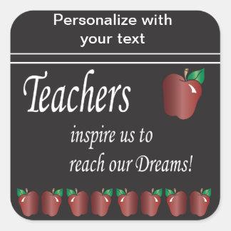 Lehrer inspirieren uns Aufkleber