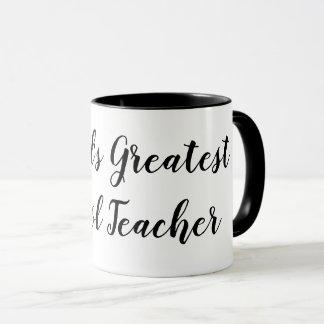 Lehrer-Kaffee-Tasse der Welt bestste Schul Tasse