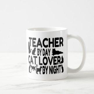 Lehrer-Katzen-Liebhaber Kaffeetasse