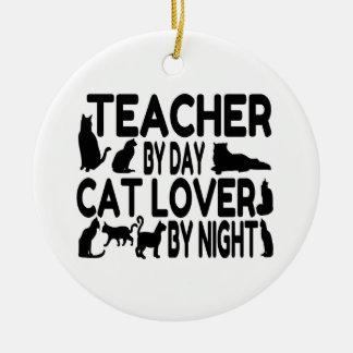 Lehrer-Katzen-Liebhaber Keramik Ornament