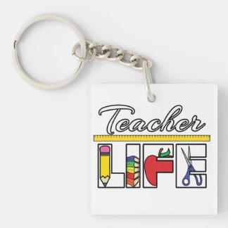 Lehrer-Leben Keychain Schlüsselanhänger