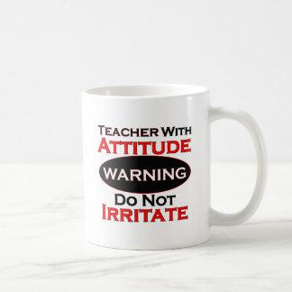 Lehrer mit Haltung Kaffeetasse