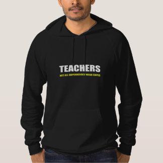 Lehrer nicht alle Superheld-Abnutzungs-Kape Hoodie