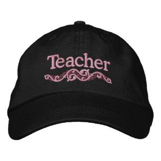 Lehrer-niedliches gesticktes Hut-Geschenk Bestickte Kappe