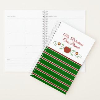 Lehrer-personalisierter täglicher Planer