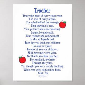 Lehrer Poster
