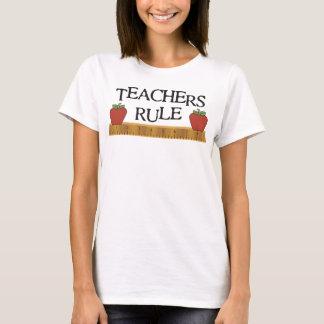 Lehrer-Regel-Shirt T-Shirt