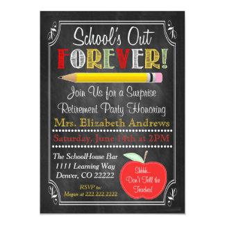 Lehrer-Ruhestands-Party Einladung