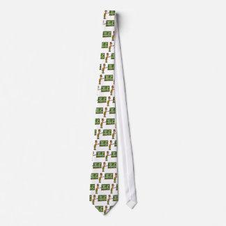 Lehrer sagt, dass oben geschlossen scherzt krawatte