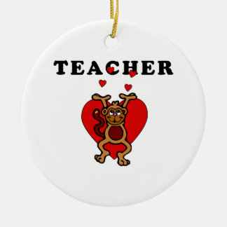 Lehrer-Spaß Keramik Ornament