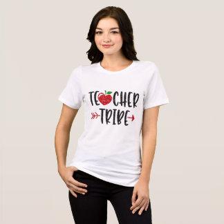 Lehrer-Stamm-Apple-Pfeil-Entwurfs-Shirt T-Shirt
