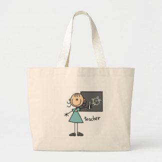 Lehrer-Strichmännchen-Tasche