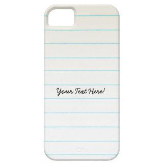 Lehrer-Studenten-Notizbuch-Papier Etui Fürs iPhone 5