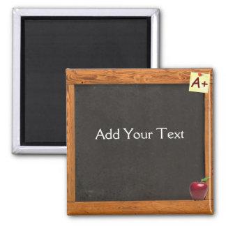 Lehrer-Tafel Quadratischer Magnet