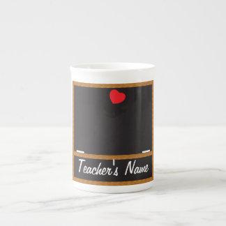 Lehrer-Tafel-Tasse - DIY Text Porzellantasse