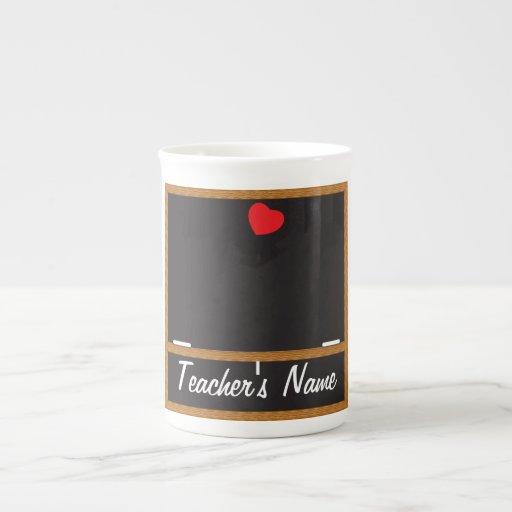 Lehrer-Tafel-Tasse - Sie fertigen besonders an Porzellantassen