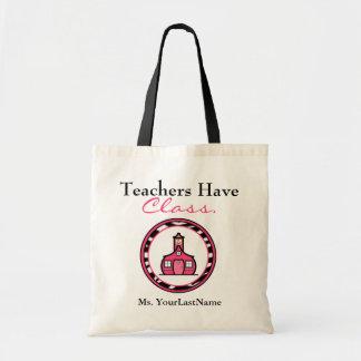 Lehrer-Tasche Budget Stoffbeutel