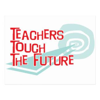 Lehrer-Touch die Zukunft Postkarten