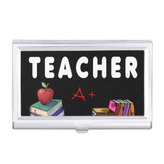 Lehrer tun es mit Klasse Visitenkarten Dose