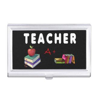 Lehrer tun es mit Klasse Visitenkarten Etui