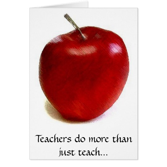 Lehrer tun mehr unterrichten als gerade… grußkarte
