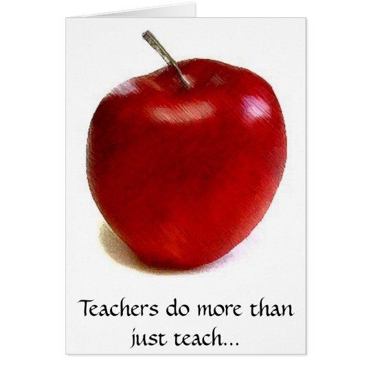 Lehrer tun mehr unterrichten als gerade… karte