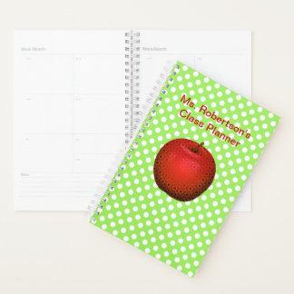 Lehrer-Tupfen-täglicher Planer