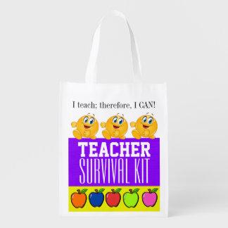 Lehrer-Überlebensausrüstung Einkaufstasche