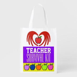 Lehrer-Überlebensausrüstung - SRF Einkaufstaschen