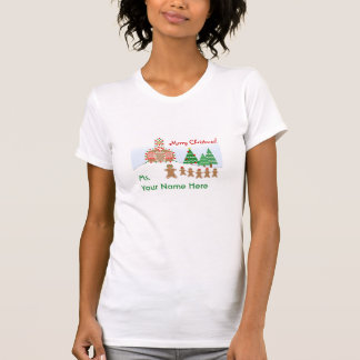 Lehrer-WeihnachtsShirt - Lebkuchen-Szene Hemden