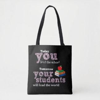 Lehrerzitattypographie Tasche
