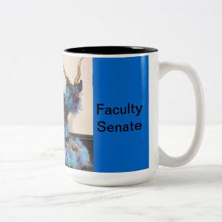 Lehrkörper-Senats-Tasse Zweifarbige Tasse